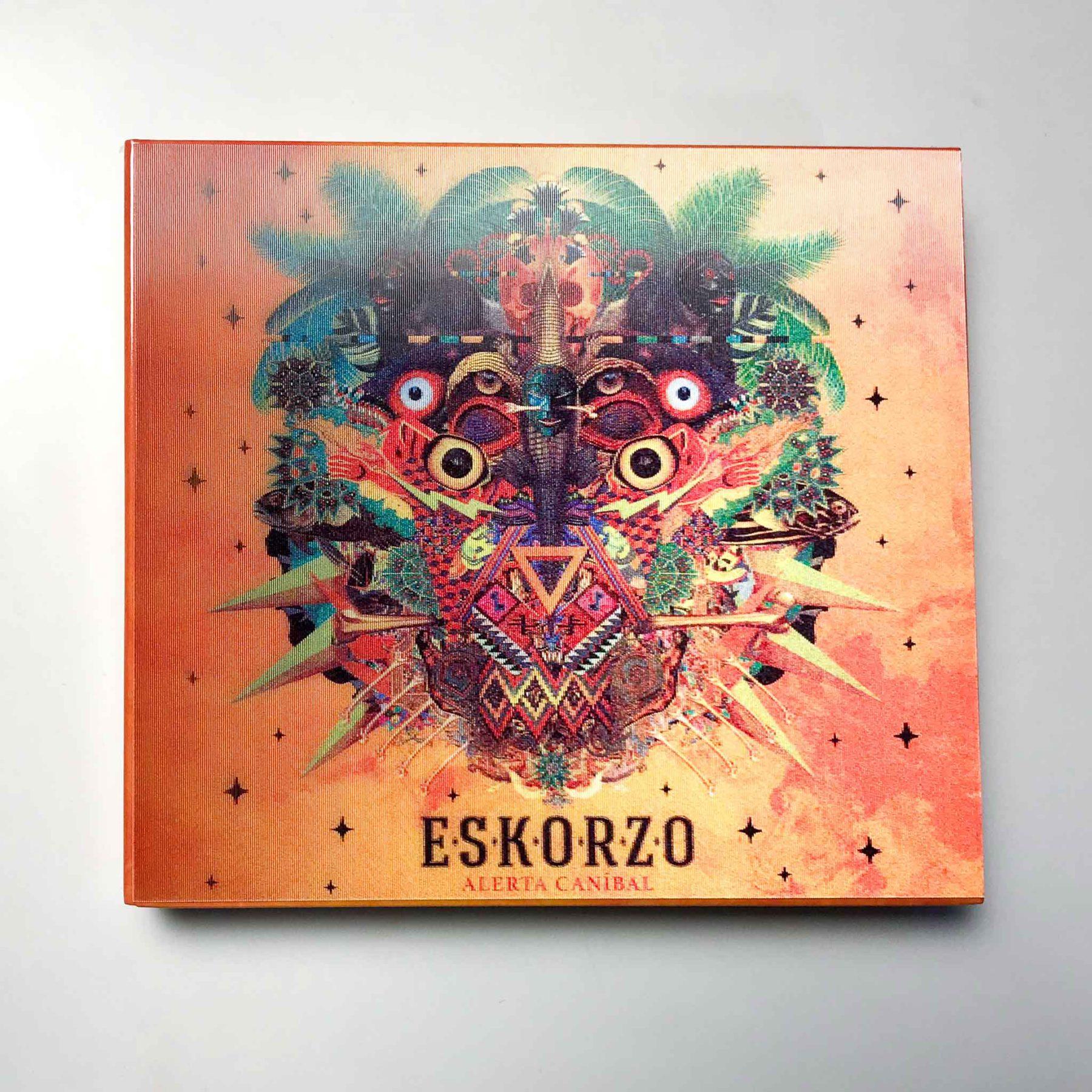 portada alerta caníbal de Eskorzo